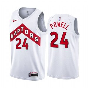 raptors norman powell white association edition jersey