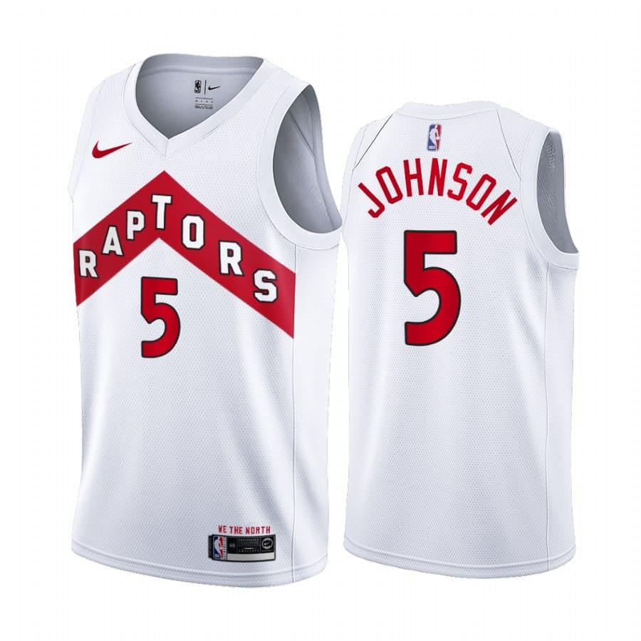 raptors stanley johnson white association edition jersey