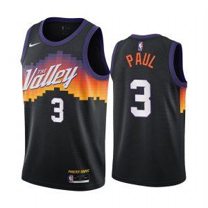 suns chris paul black city edition 2020 trade jersey
