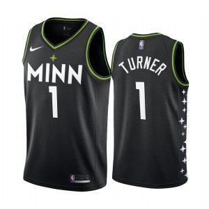 timberwolves evan turner black city edition new uniform jersey 1