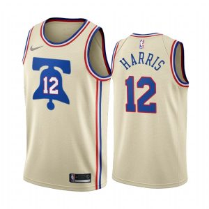 tobias harris 76ers 2020 21 earned edition cream jersey