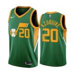 udoka azubuike jazz 2020 21 earned edition green jersey