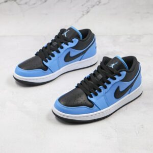Air Jordan 1 Low University Blue Black 1