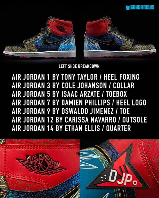 Air Jordan 1 What The Doernbecher obedinyat v sebe 14 dizajnov 1