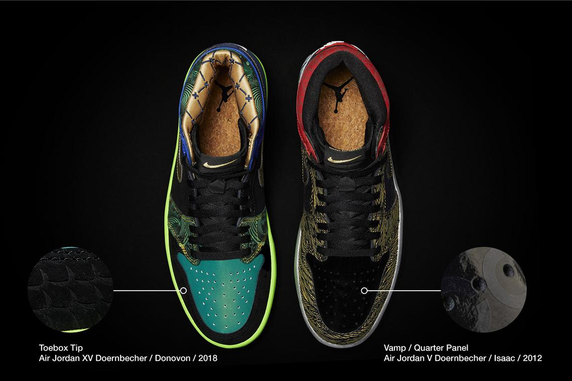 Air Jordan 1 What The Doernbecher obedinyat v sebe 14 dizajnov 4