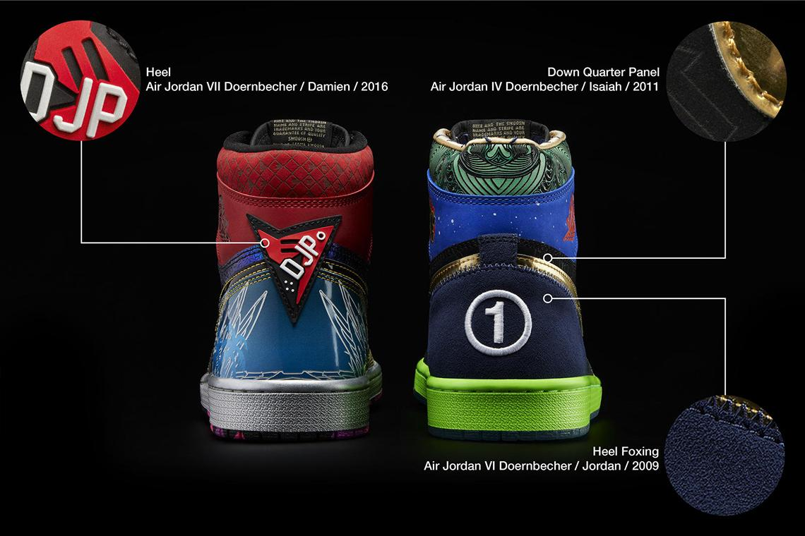 Air Jordan 1 What The Doernbecher obedinyat v sebe 14 dizajnov 8