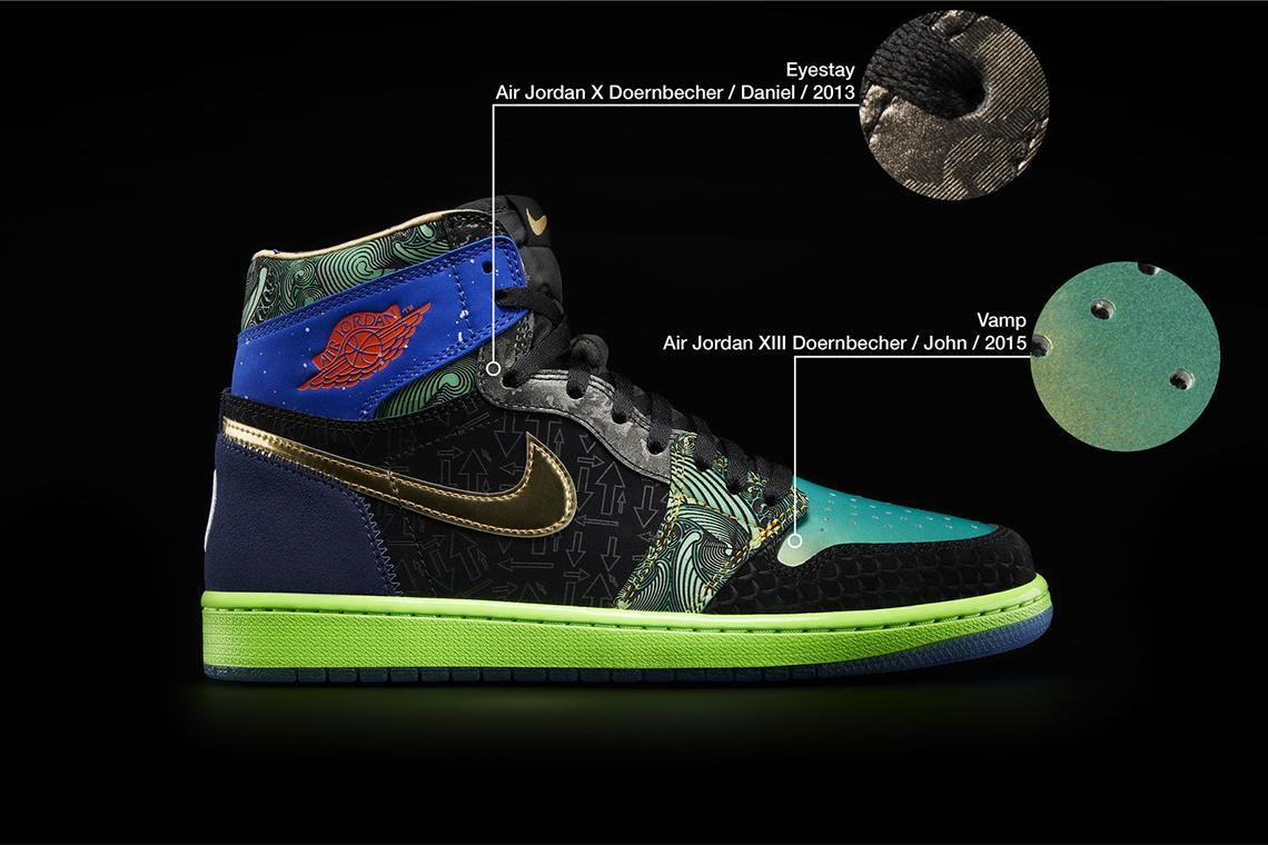 Air Jordan 1 What The Doernbecher obedinyat v sebe 14 dizajnov 9