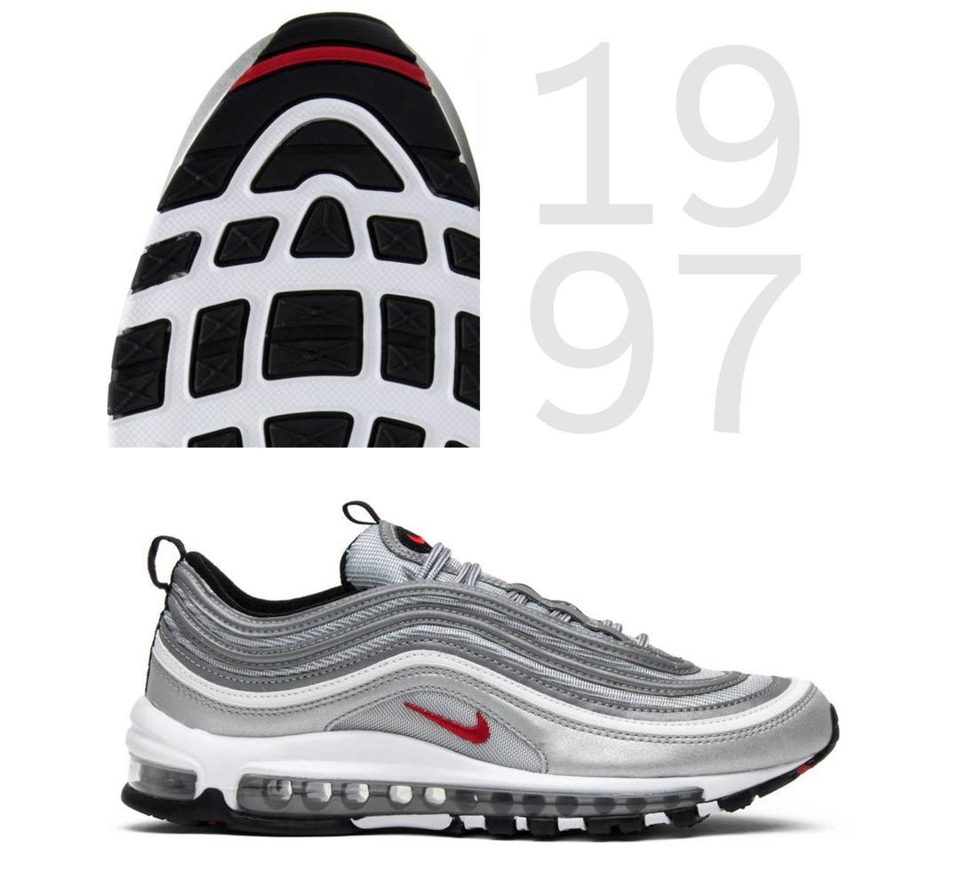 Begom po vozduhu istoriya Nike Air Max Nike Air Max 97 1997