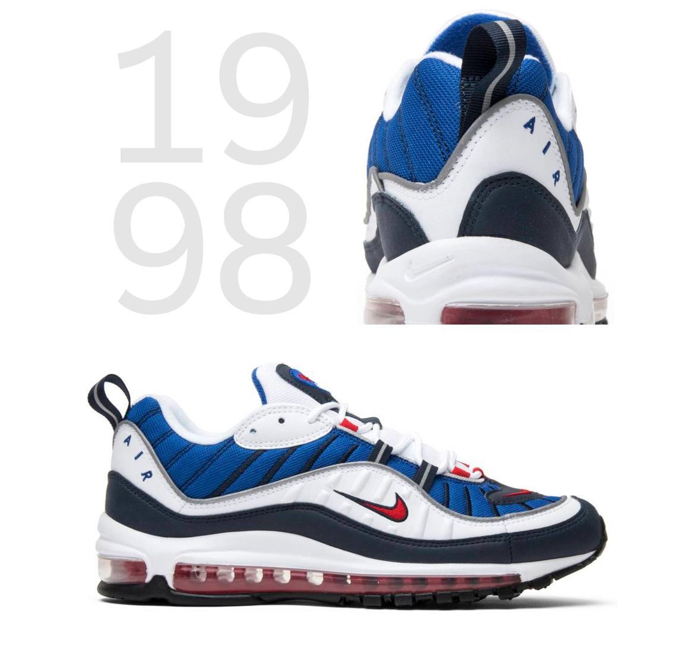 Begom po vozduhu istoriya Nike Air Max Nike Air Max 98 1998