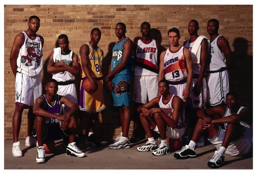 Legenda v kadre Kobi Brajant Novichki drafta NBA 1996