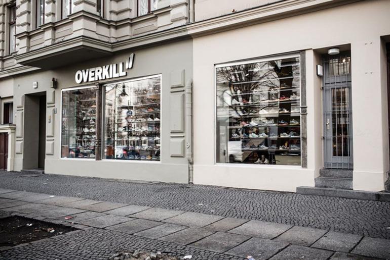Magaziny krossovok v Berline kotorye stoit posetit Overkill Kopenicker Strasse