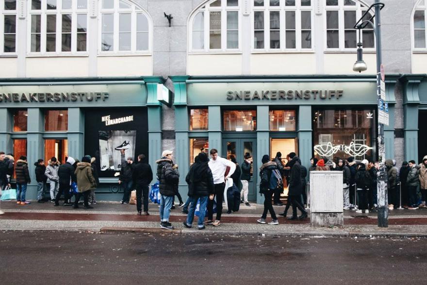 Magaziny krossovok v Berline kotorye stoit posetit Sneakersnstuff Berlin Schonhauser Allee 6 7