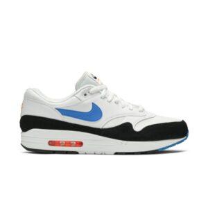 Nike Air Max 1 White Photo Blue Black