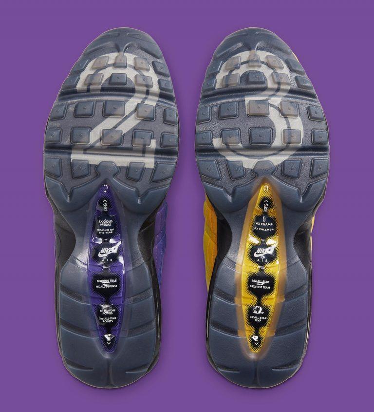 Ofitsialnye izobrazheniya Nike Air Max 95 LeBron 4
