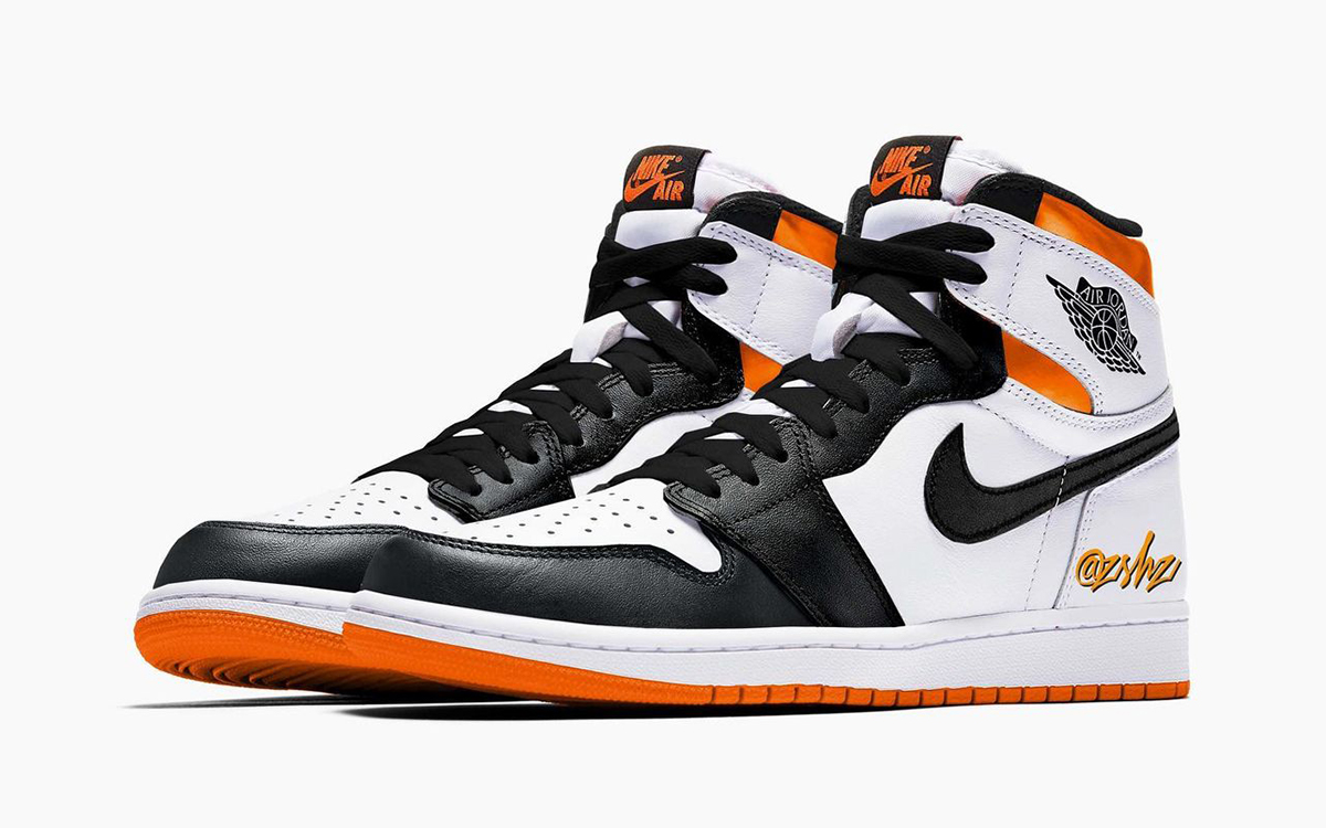 Pervye izobrazheniya i data vyhoda Air Jordan 1 Electro Orange