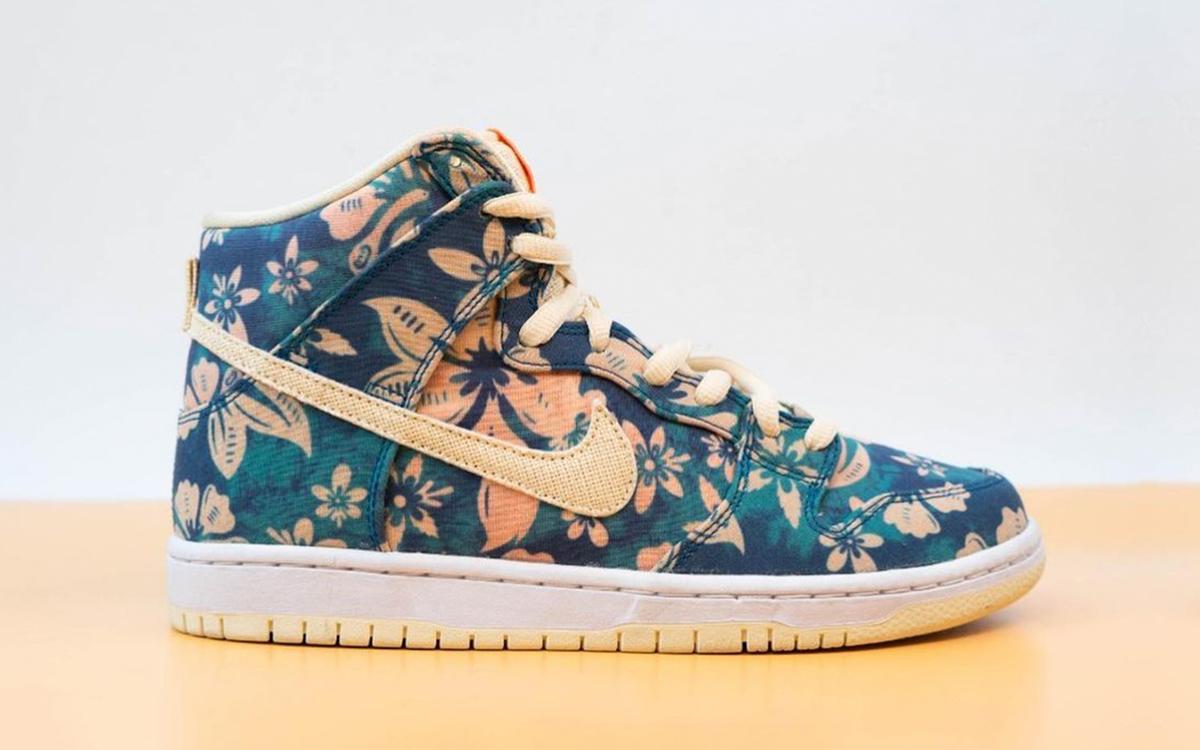 Pervyj vzglyad na Nike SB Dunk High Hawaii