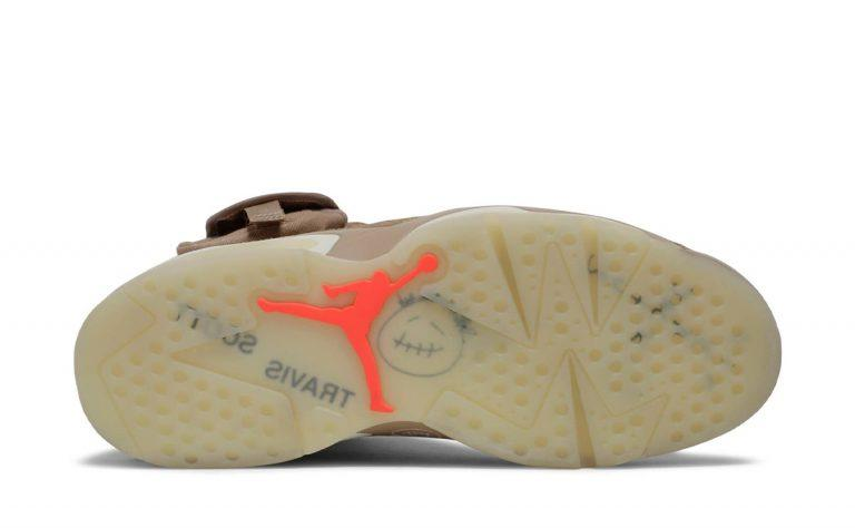 Podrobnye foto novyh Travis Scott x Air Jordan 6 British Khaki 9