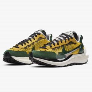 Sacai x Nike Vaporwaffle Tour Yellow Stadium Green 1