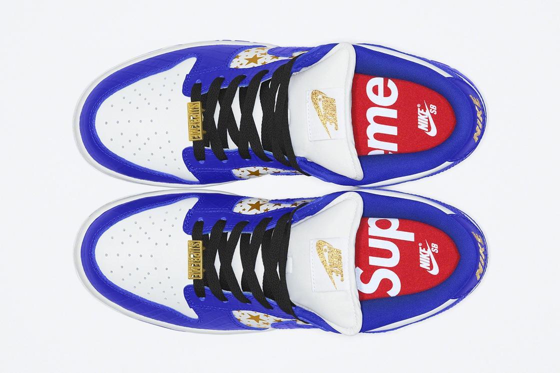 Sovmestnyj vypusk Supreme x Nike SB Dunk Low vesna leto 2021 8