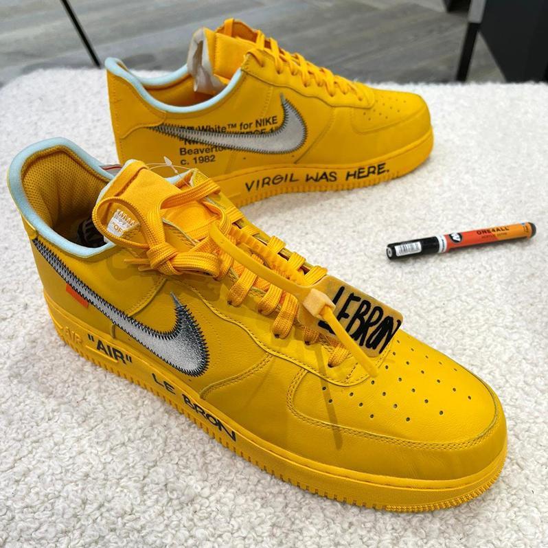 Virdzhil Ablo podpisal novye Off White x Nike Air Force 1 Low 1