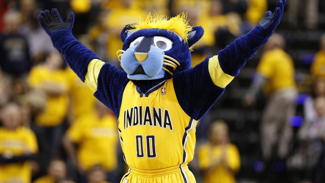 Zabavnye talismany komand NBA Indiana Pacers i Boomer