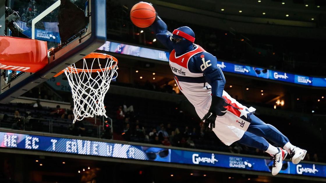 Zabavnye talismany komand NBA Washington Wizards G wiz i G man 2