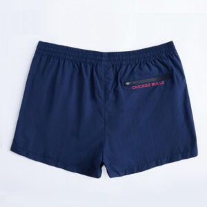 2018 NBA Chicago Bulls Navy Shorts 2