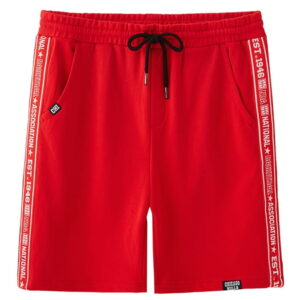 2018 NBA Chicago Bulls Red Shorts 1