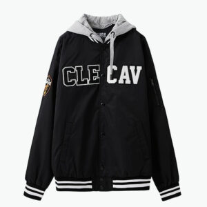 2018 NBA Cleveland Cavaliers Black Jacket 1