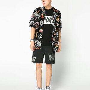 2018 NBA Miami Heat Black Palm Shirt Unisex 2