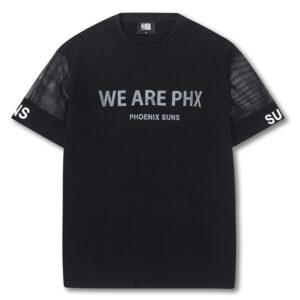 2018 NBA Phoenix Suns We Are PHX Black Tee 1