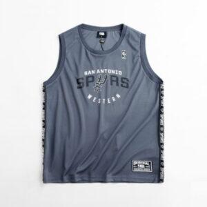 2018 NBA San Antonio Spurs Southwest Div Grey 1