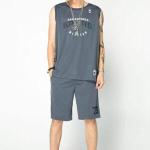 2018 NBA San Antonio Spurs Southwest Div Grey 2