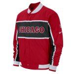 2018 Nike NBA Chicago Bulls Retro Red Bomber Jacket 1