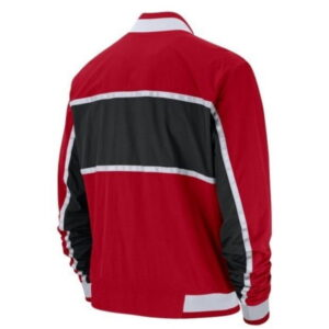 2018 Nike NBA Chicago Bulls Retro Red Bomber Jacket 2