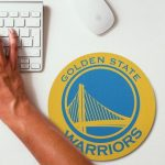 2019 NBA Team Round Mouse Pad 15