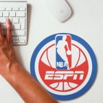 2019 NBA Team Round Mouse Pad 17