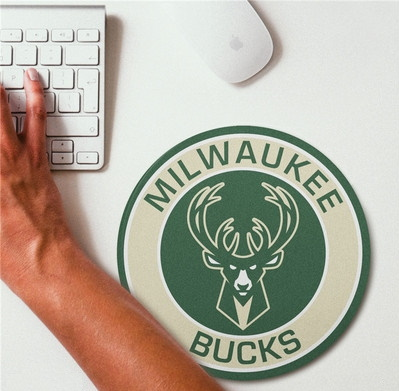 2019 NBA Team Round Mouse Pad 18