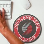 2019 NBA Team Round Mouse Pad 2