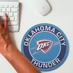 2019 NBA Team Round Mouse Pad 20