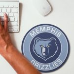2019 NBA Team Round Mouse Pad 22