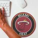 2019 NBA Team Round Mouse Pad 23