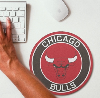 2019 NBA Team Round Mouse Pad 24