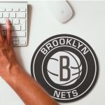 2019 NBA Team Round Mouse Pad 26