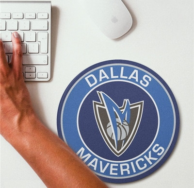 2019 NBA Team Round Mouse Pad 28