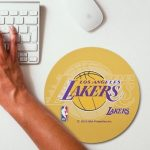 2019 NBA Team Round Mouse Pad 31
