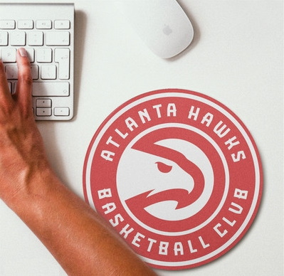 2019 NBA Team Round Mouse Pad 4