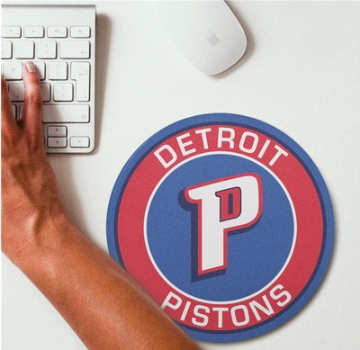 2019 NBA Team Round Mouse Pad 5