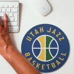 2019 NBA Team Round Mouse Pad 8