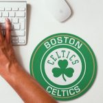 2019 NBA Team Round Mouse Pad 9